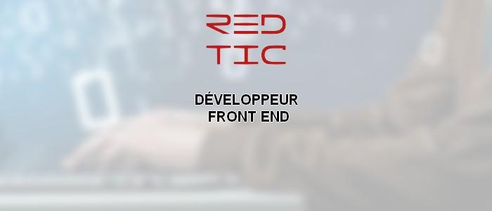 DÉVELOPPEUR FRONT END CONFIRMÉ