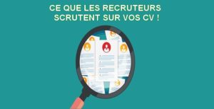 Ce que les recruteurs examinent en premier sur vos CV !