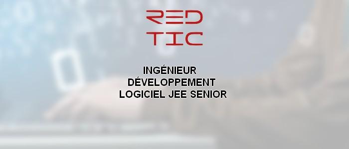 INGÉNIEUR  DÉVELOPPEMENT LOGICIEL JEE SENIOR