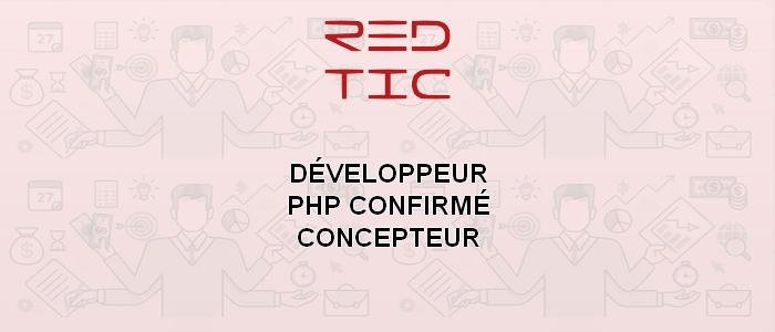 DÉVELOPPEUR PHP CONFIRMÉ / CONCEPTEUR