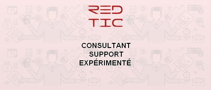 CONSULTANT SUPPORT EXPÉRIMENTÉ (secteur des TIC)