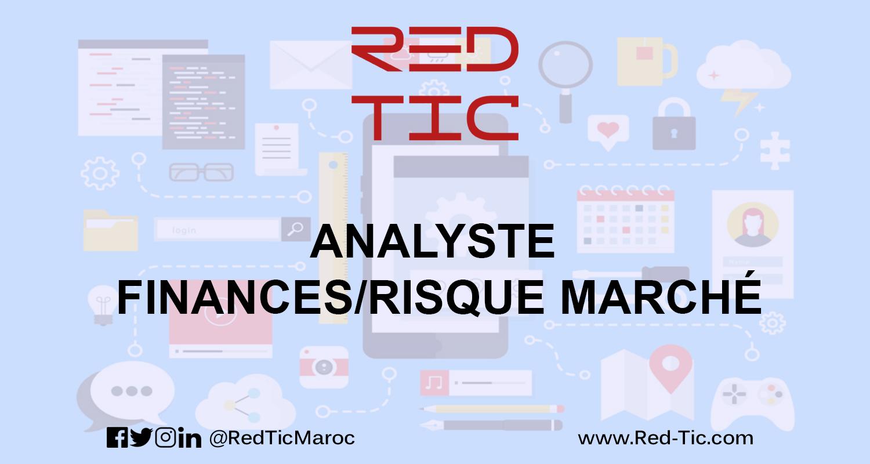 ANALYSTE FINANCES/RISQUE MARCHÉ