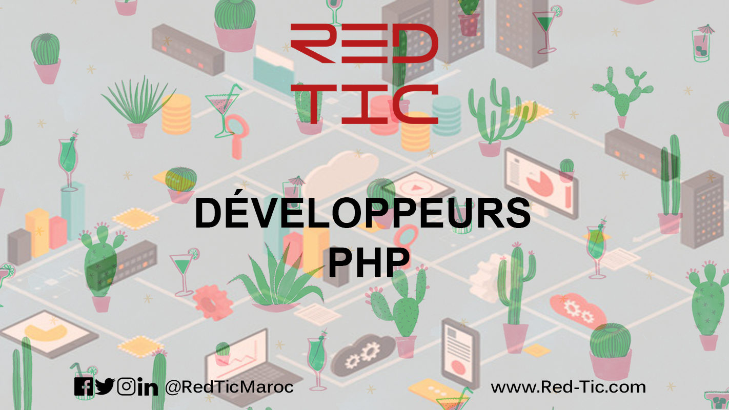 DÉVELOPPEUR PHP (3 ANS D'EXPÉRIENCE)