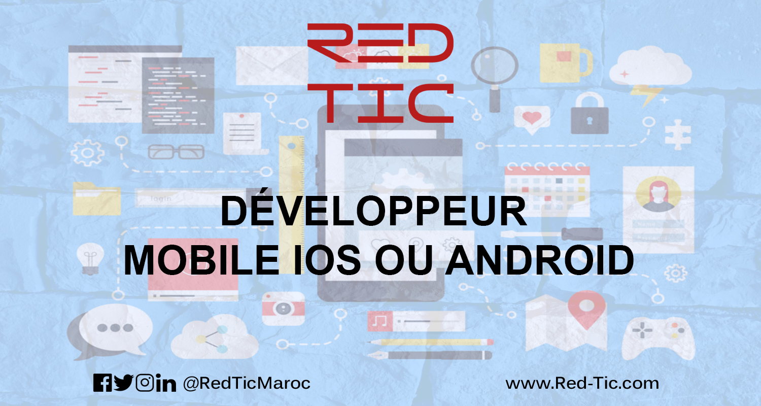 DÉVELOPPEUR MOBILE IOS / ANDROID