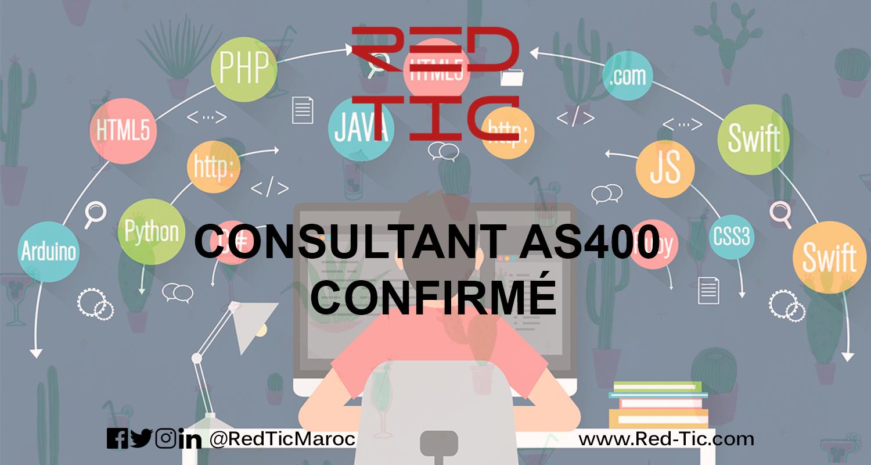 CONSULTANT AS400 CONFIRMÉ