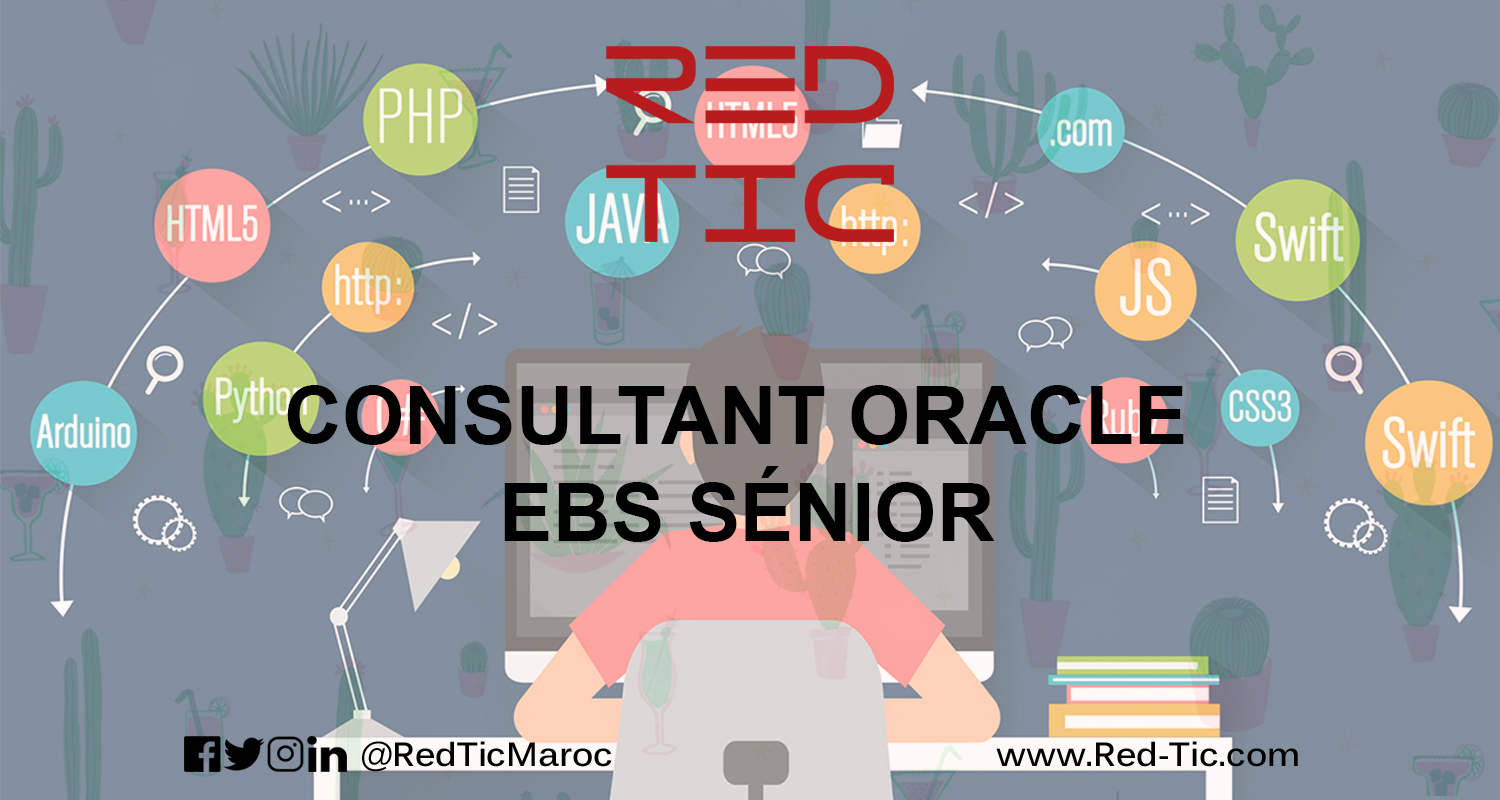 CONSULTANT ORACLE EBS SENIOR