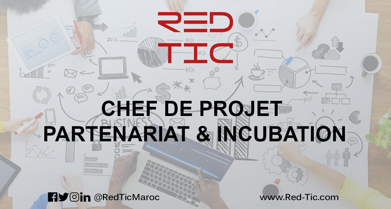 CHEF DE PROJET PARTENARIAT & INCUBATION