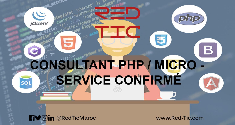 CONSULTANT PHP / MICRO – SERVICE CONFIRMÉ