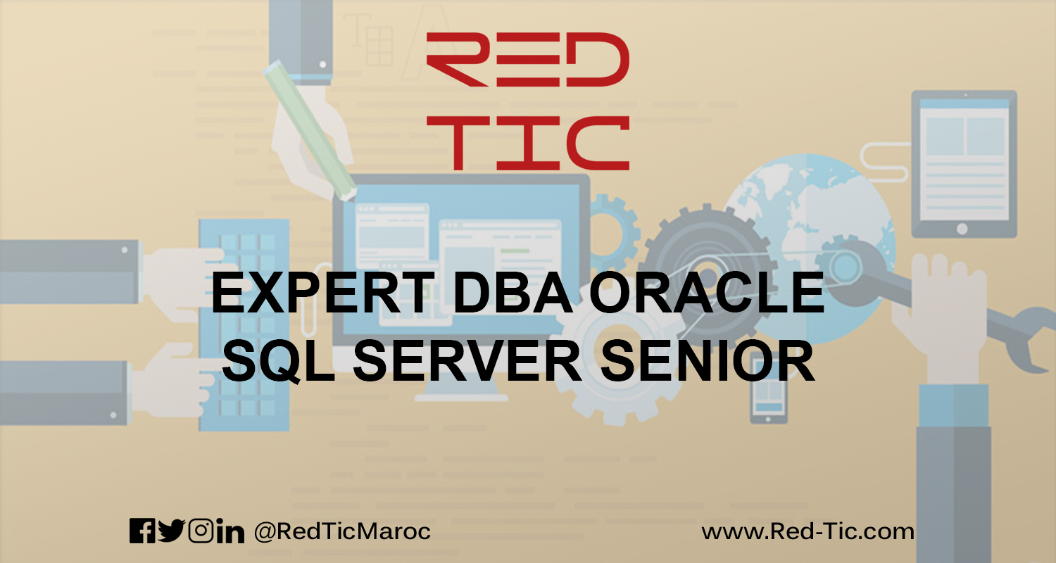 EXPERT DBA ORACLE SQL SERVER SENIOR