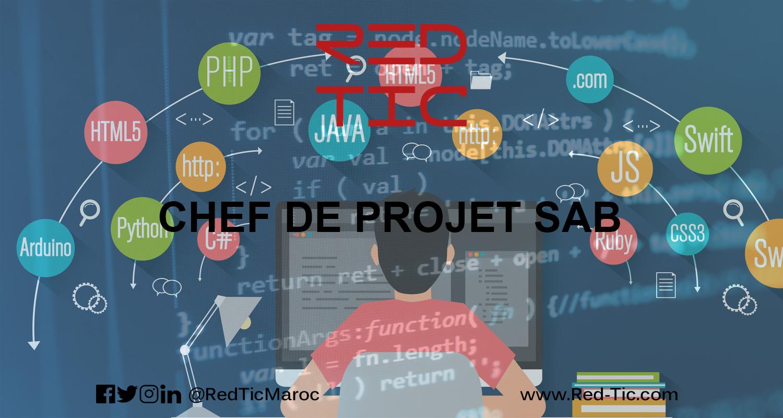 CHEF DE PROJET SAB (6 ANS D'EXPÉRIENCE)