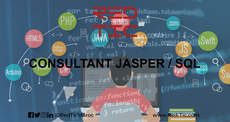 CONSULTANT JASPER / SQL (3 ANS D'EXPÉRIENCE)