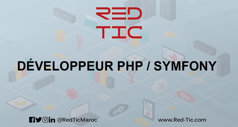 DÉVELOPPEUR PHP / SYMFONY