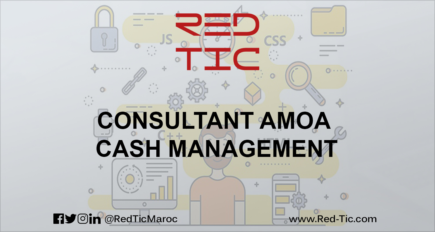 CONSULTANT AMOA CASH MANAGEMENT