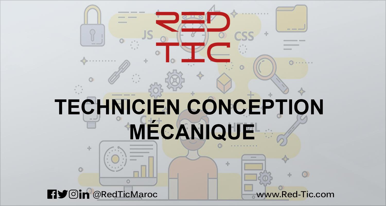 TECHNICIEN CONCEPTION MÉCANIQUE