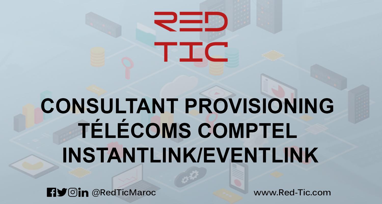 CONSULTANT PROVISIONING TÉLÉCOMS COMPTEL INSTANTLINK/EVENTLINK