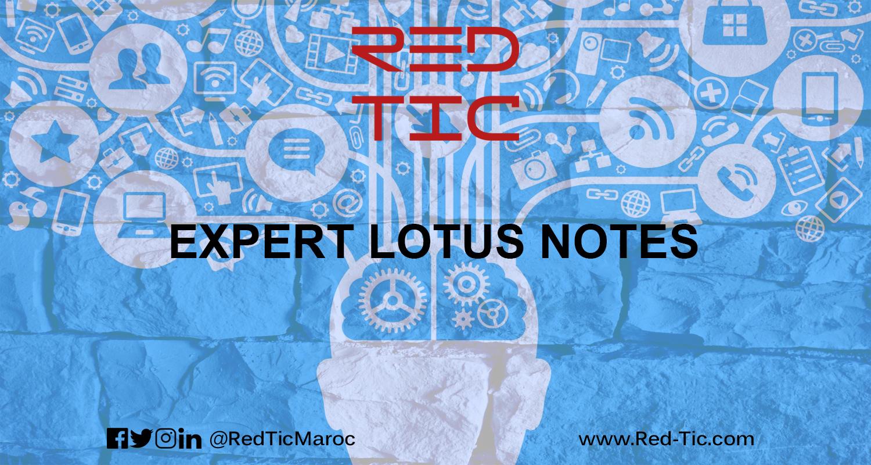 EXPERT LOTUS NOTES