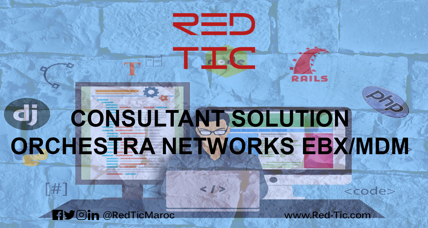 CONSULTANT SOLUTION ORCHESTRA NETWORKS EBX/MDM