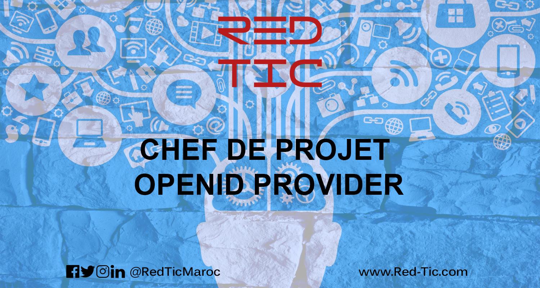 CHEF DE PROJET OPENID PROVIDER