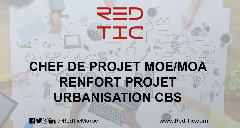 CHEF DE PROJET MOE/MOA RENFORT PROJET URBANISATION CBS