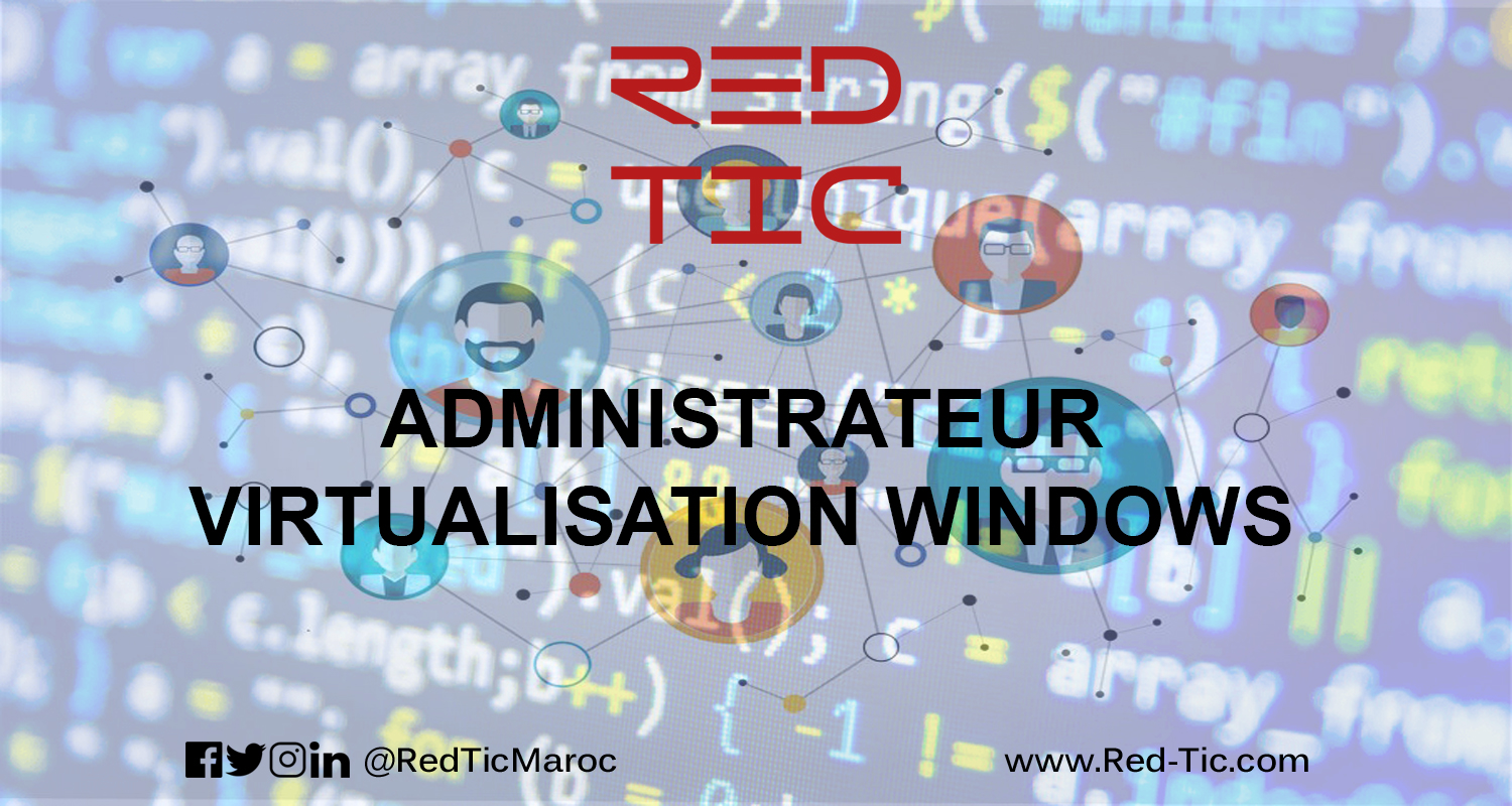 ADMINISTRATEUR VIRTUALISATION WINDOWS