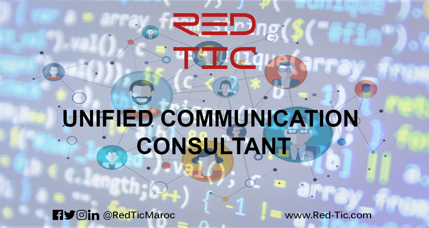 UNIFIED COMMUNICATION CONSULTANT