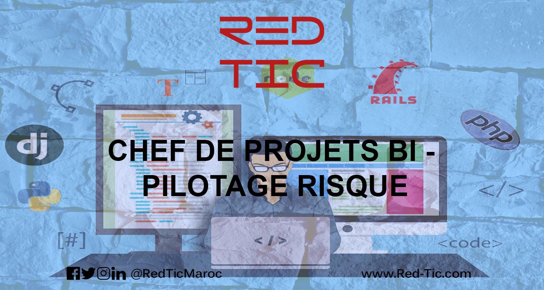 CHEF DE PROJETS BI – PILOTAGE RISQUE