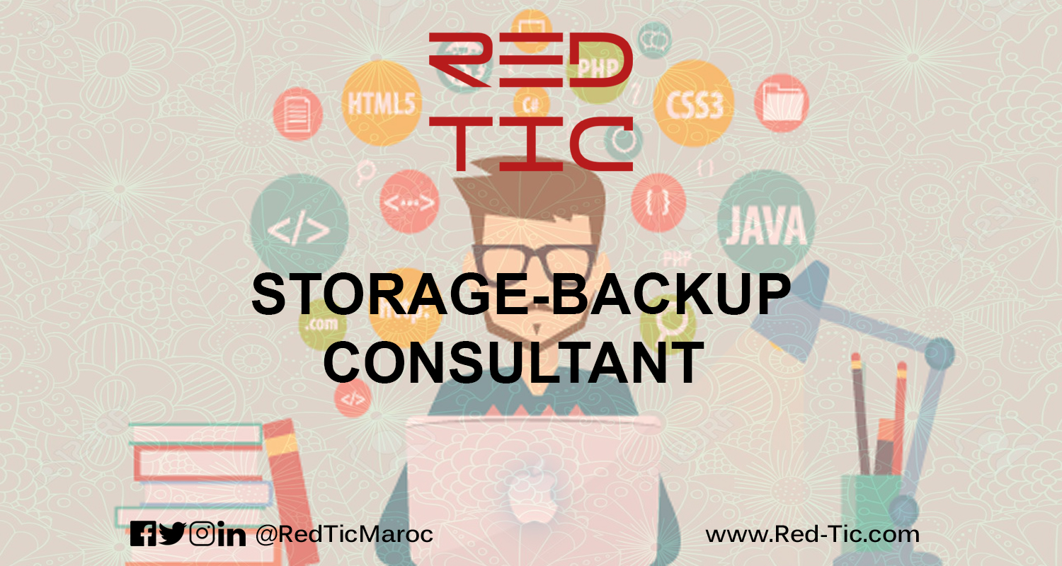 STORAGE-BACKUP CONSULTANT