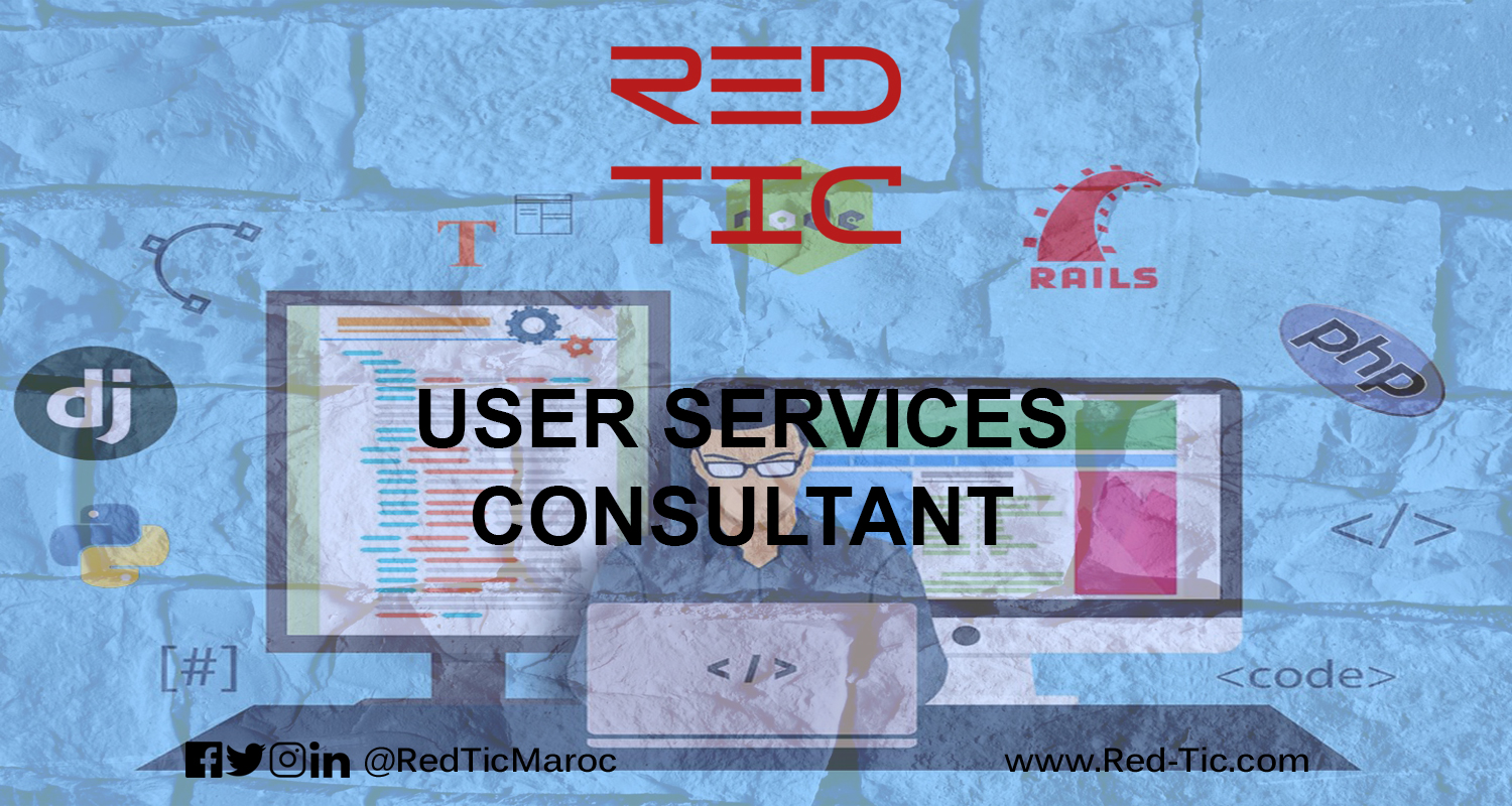 USER SERVICES CONSULTANT