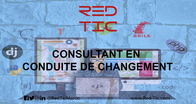 CONSULTANT EN CONDUITE DE CHANGEMENT