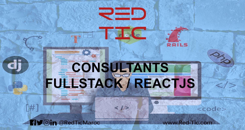 CONSULTANTS FULLSTACK / REACTJS