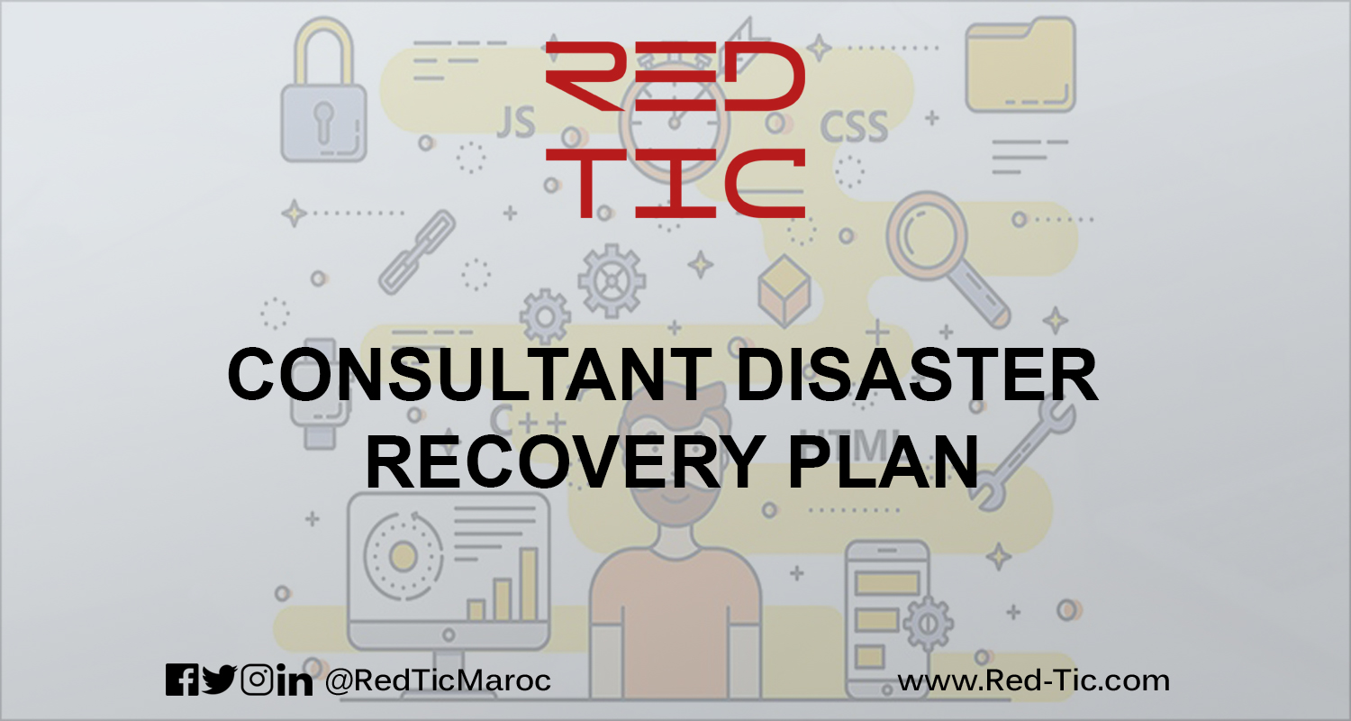 CONSULTANT DISASTER RECOVERY PLAN