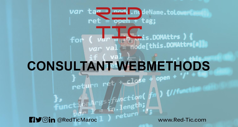CONSULTANT WEBMETHODS