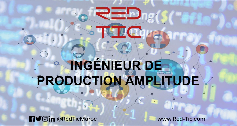 INGÉNIEUR DE PRODUCTION AMPLITUDE