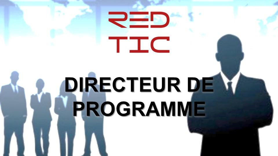 DIRECTEUR DE PROGRAMME