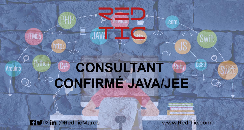 CONSULTANT CONFIRMÉ JAVA/JEE
