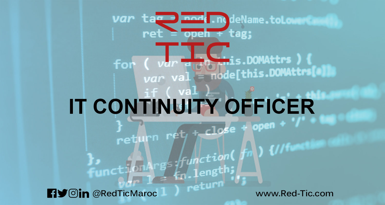 IT CONTINUITY OFFICER