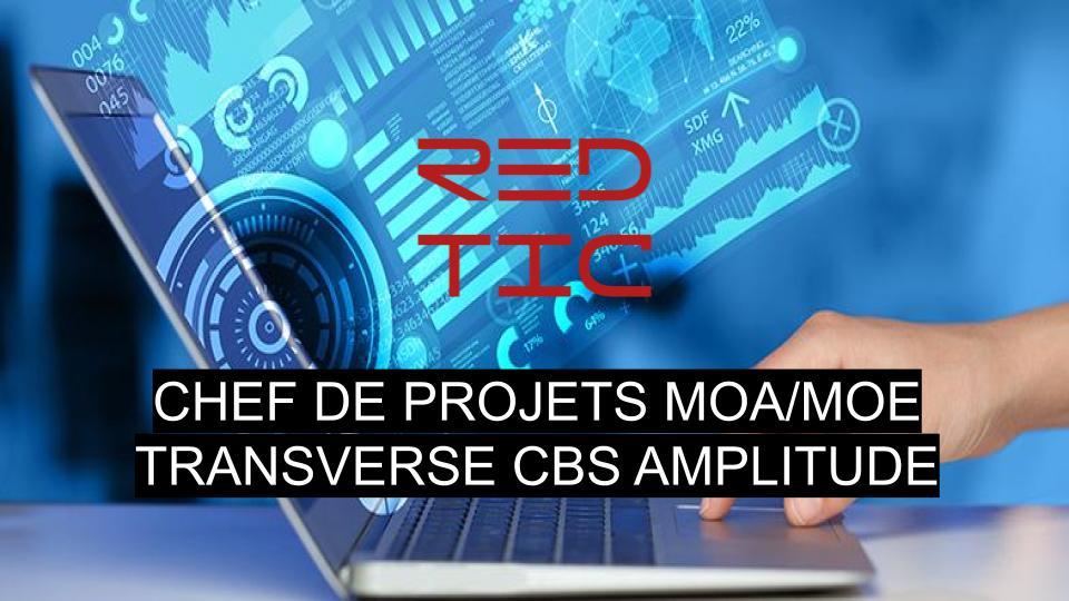 CHEF DE PROJETS MOA/MOE TRANSVERSE CBS AMPLITUDE