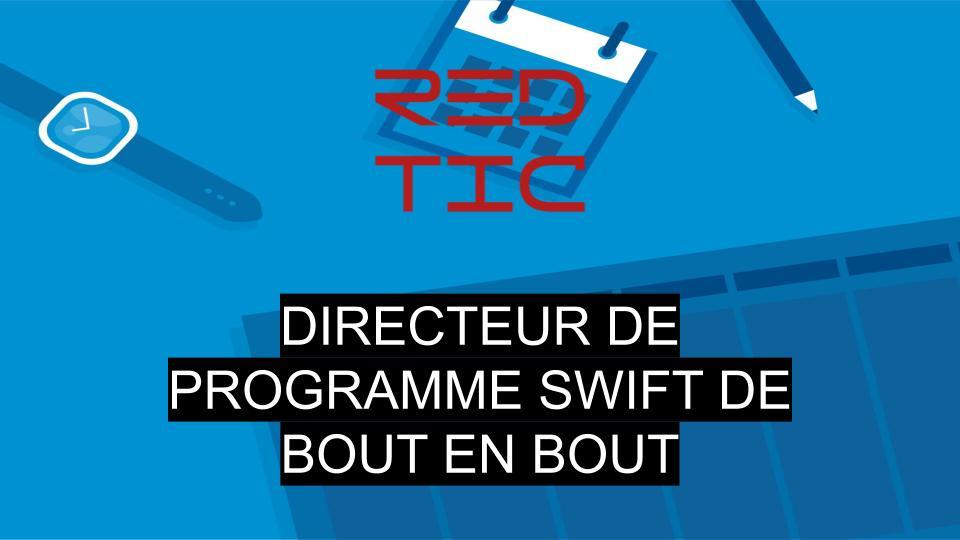 DIRECTEUR DE PROGRAMME SWIFT DE BOUT EN BOUT