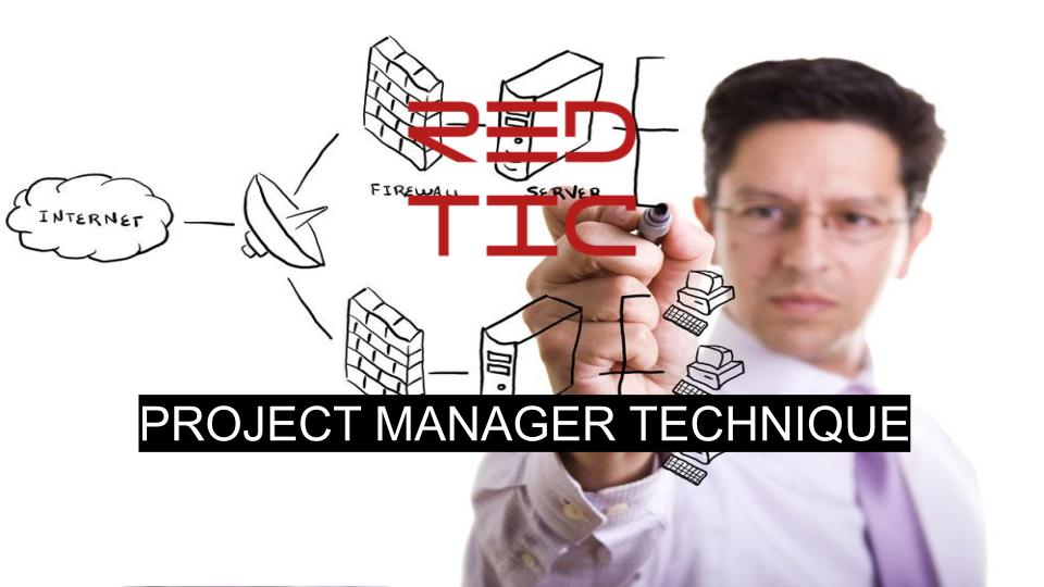 PROJECT MANAGER TECHNIQUE
