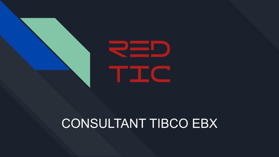 CONSULTANT TIBCO EBX