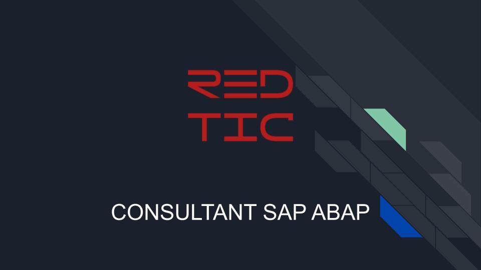 CONSULTANT SAP ABAP