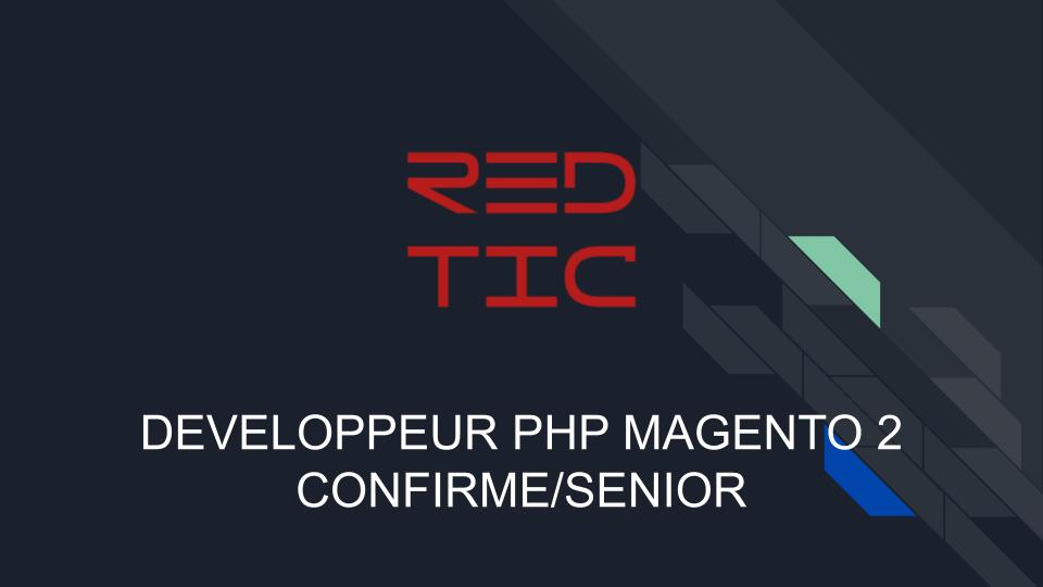 DEVELOPPEUR PHP MAGENTO 2 CONFIRME/SENIOR