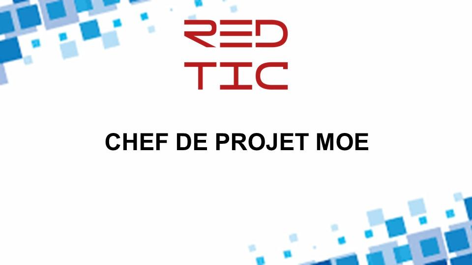 CHEF DE PROJET MOE