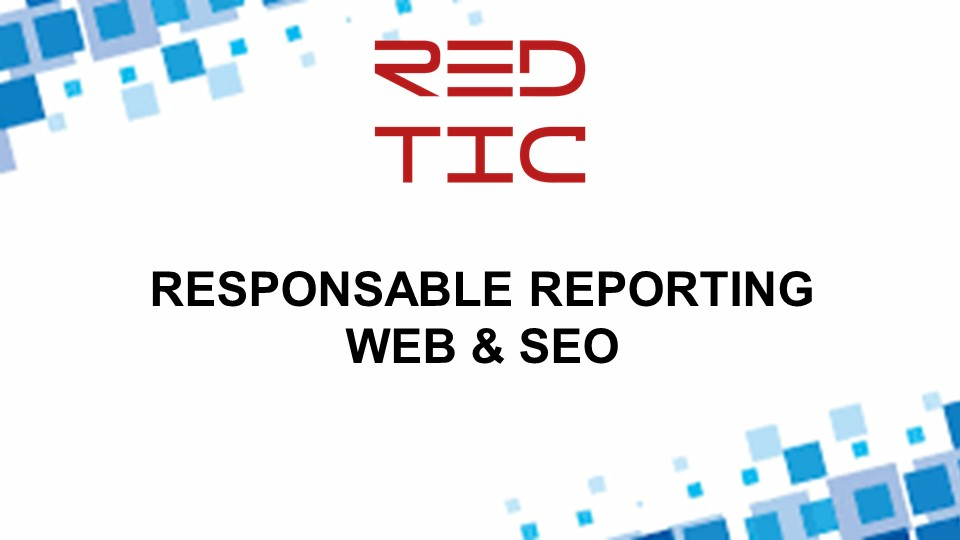 RESPONSABLE REPORTING WEB & SEO