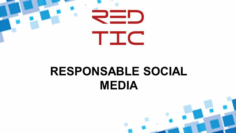 RESPONSABLE SOCIAL MEDIA