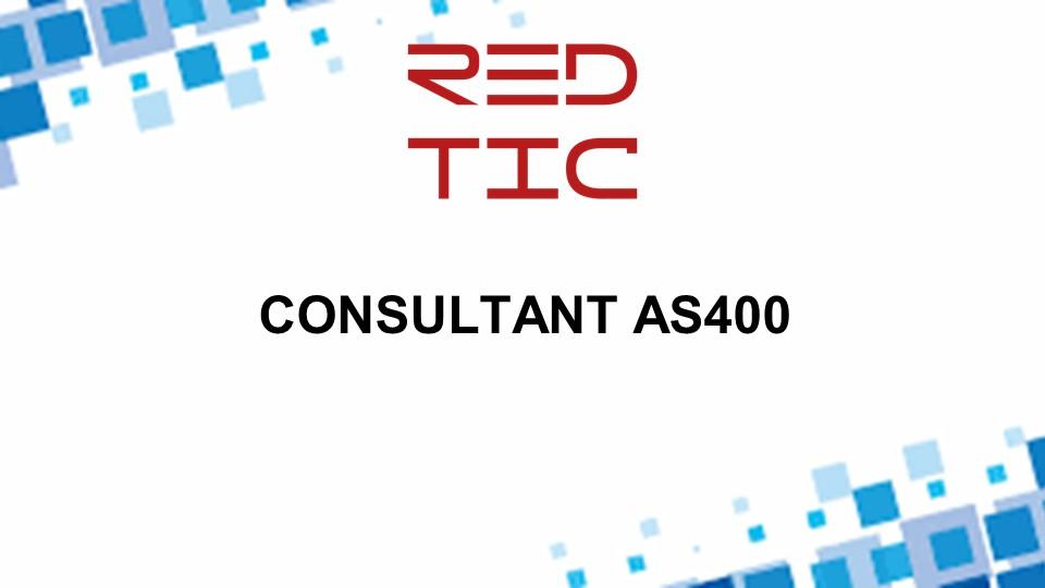 CONSULTANT AS400