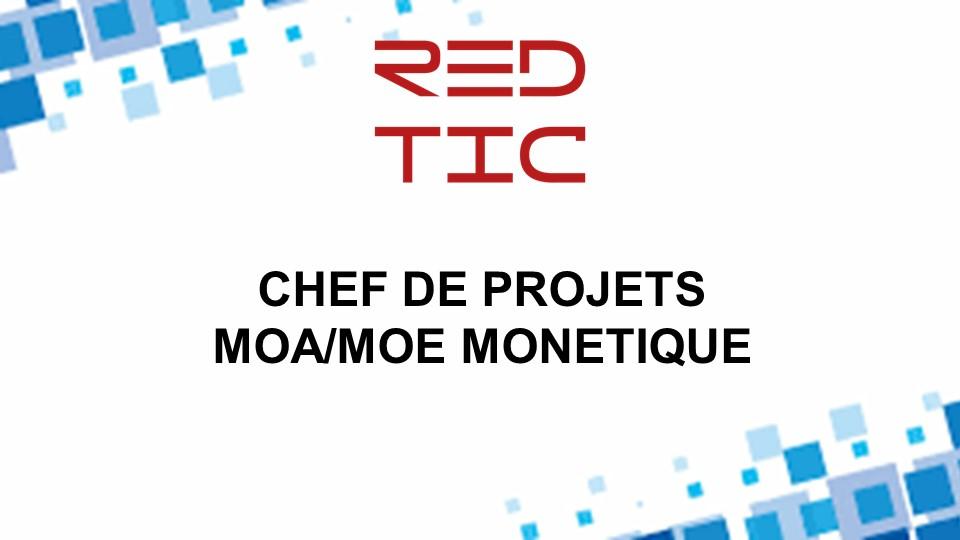 CHEF DE PROJET MOA/MOE MONETIQUE
