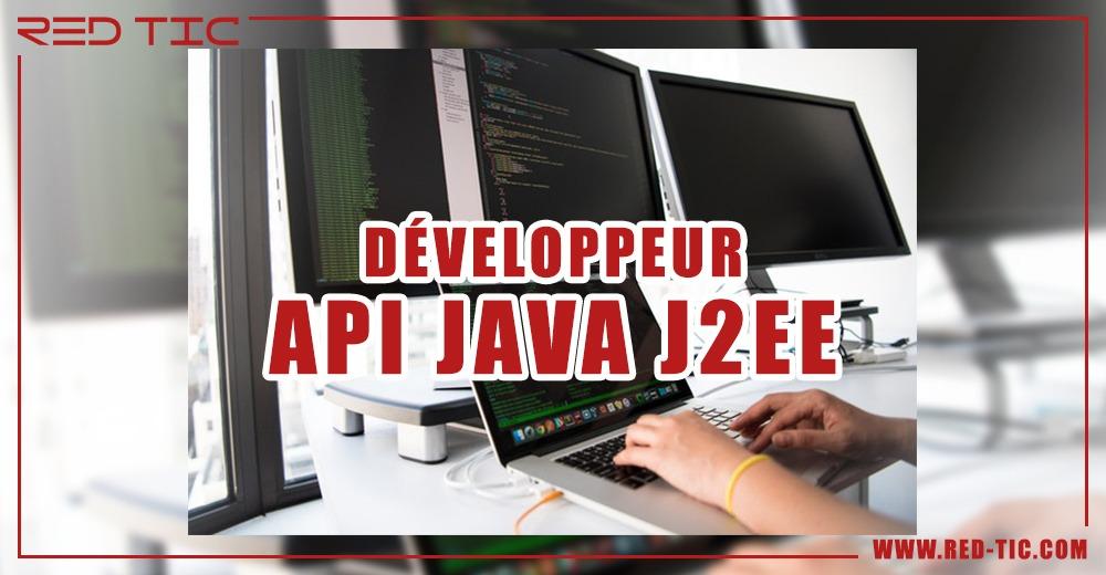 DÉVELOPPEUR API JAVA J2EE