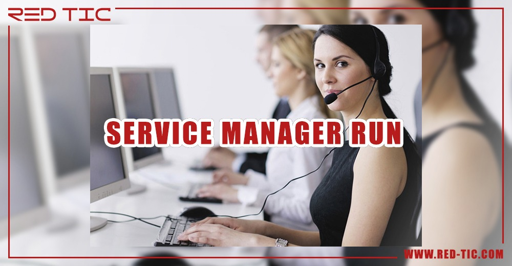 SERVICE MANAGER RUN