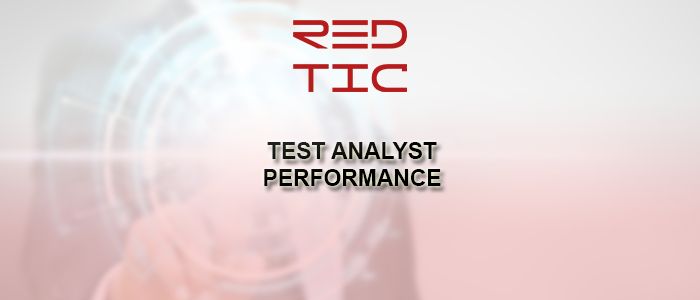TEST ANALYST PERFORMANCE